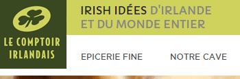 comptoir irlandais : logo